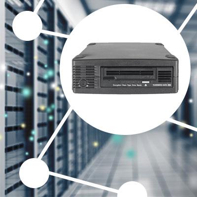 Conexão Fibre Channel, compatibilidade ampla com servidores