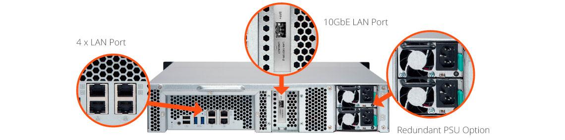 Design de alta confiabilidade do storage 32TB
