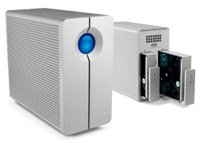 Disco 4TB FireWire 400, 800, USB e eSATA