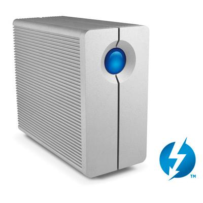 Disco LaCie 2Big Thunderbolt - Dados com alta velocidade