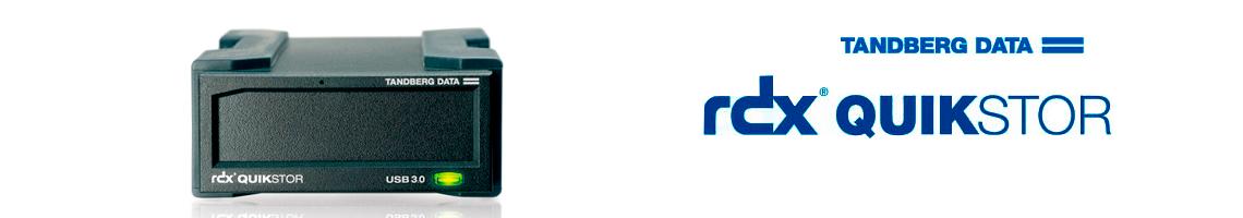 RDX QuikStor Tandberg, funções de HD removivel através de cartuchos portáteis