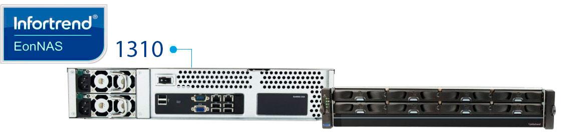 EonNAS 1310 Infortrend, NAS para empresas