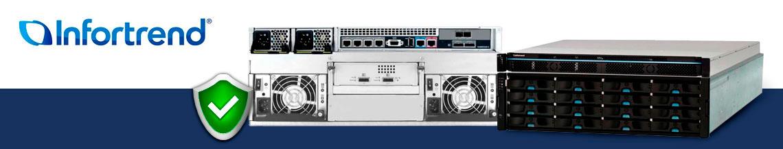 EonNAS 5120-2, NAS com alta disponibilidade e proteção de dados
