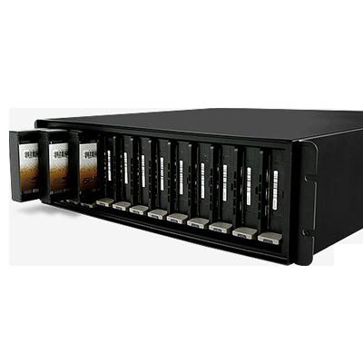 Storage SAN Ip, escalável 8 baias SATA III até 80TB