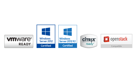 Compatibilidade com os principais ambientes de virtualização