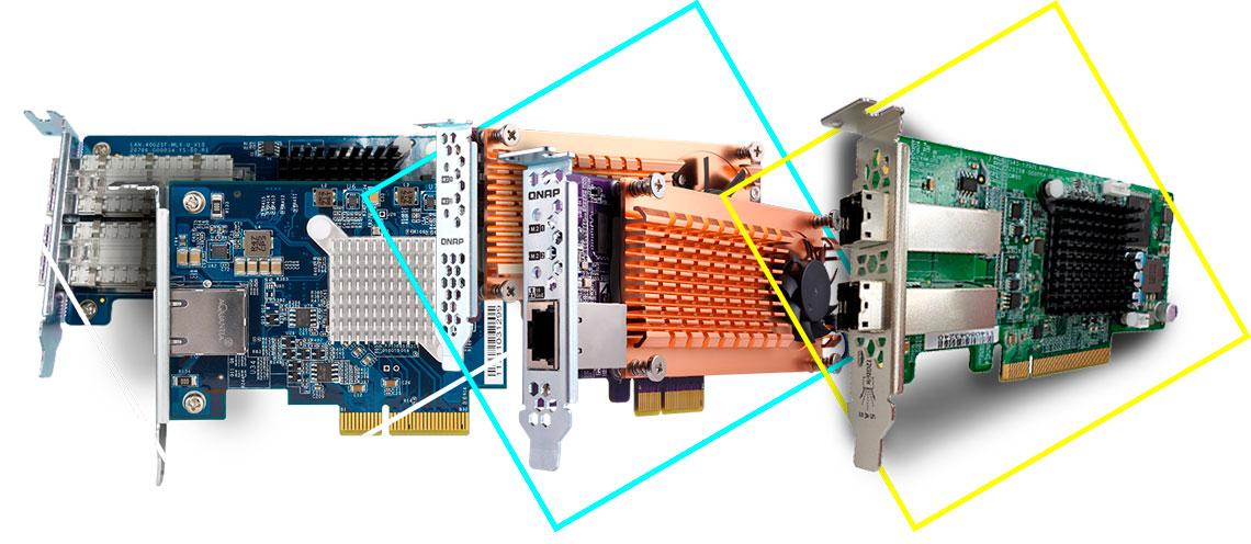 Expansão das funcionalidades com expansão PCIe