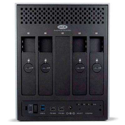 Firewire, USB e eSATA máxima compatibilidade