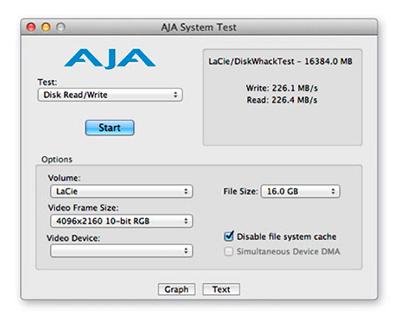 Fluxos de trabalho mais eficiente - HD LaCie d2 4TB