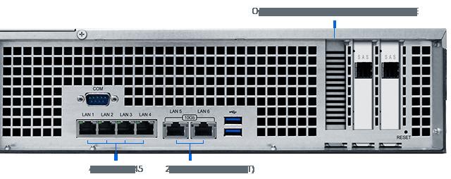 FS2017, opção de entrada de rede para até 40GB/s