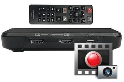 Gravador de TV, DVD, Blu-Ray e Muito Mais!