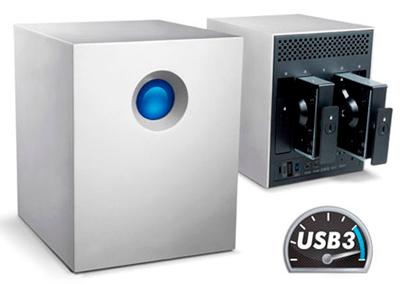 HD Externo 20TB LaCie 4big Quadra USB 3.0 - 9000505U