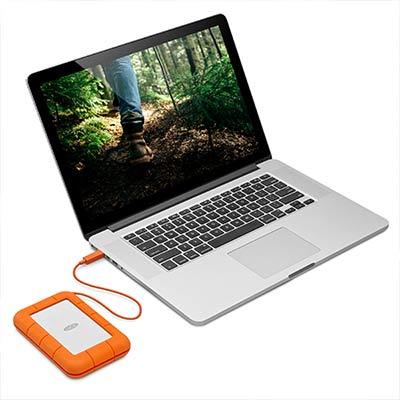 HD externo USB-C, totalmente compatível com qualquer porta USB