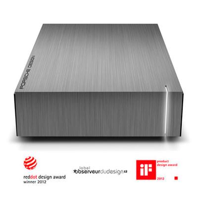 HD Externo LaCie 302003 3TB  Design da Porsche e Funcionalidade LaCie