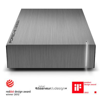 HD Externo LaCie 9000480 5TB Design da Porsche e Funcionalidade LaCie