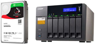 HD IronWolf 12TB para NAS