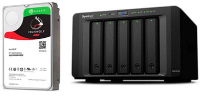 HD IronWolf Pro 6TB, uso 24x7
