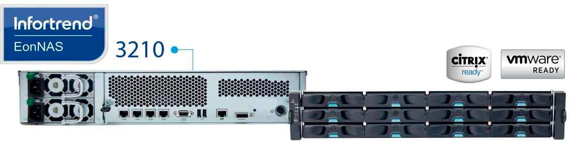 Infortrend EonNAS 3210, solução de backup escalável
