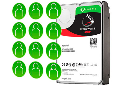 IronWolf Seagate, taxa de trabalho otimizada