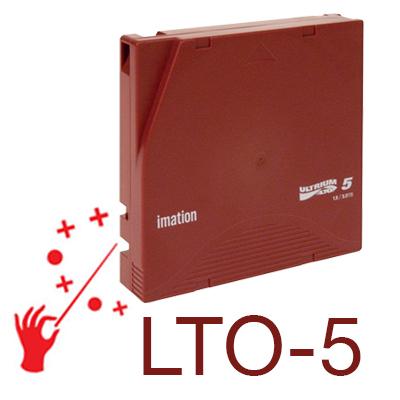 Backup padrão LTO Ultrium até 144TB