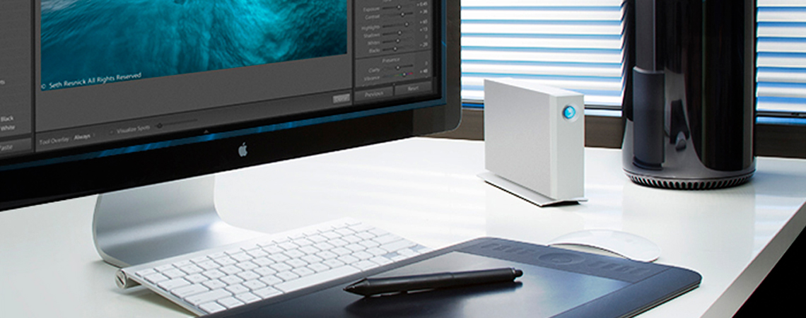 LaCie 3TB Thunderbolt compatível com o Time Machine