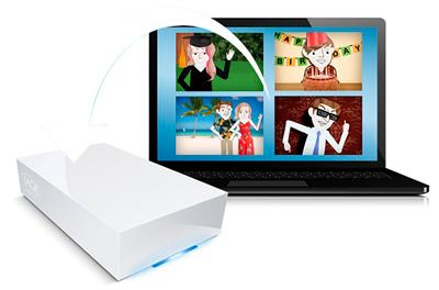 Lacie CloudBox, HD Network de Verdade!
