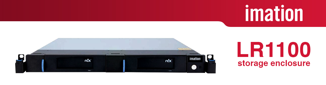 LR1100 Storage enclosure com armazenamento híbrido