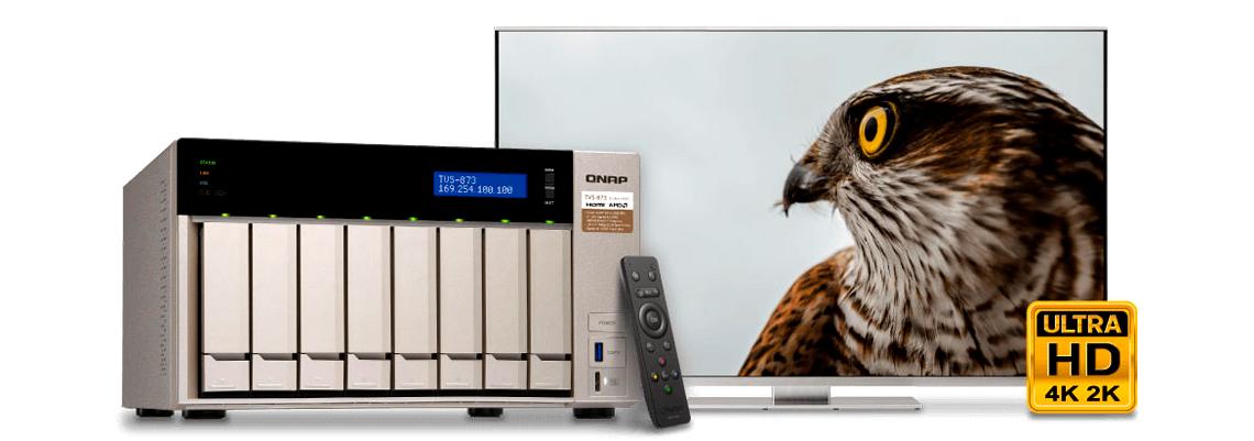Media Server HDMI 4K com suporte DLNA