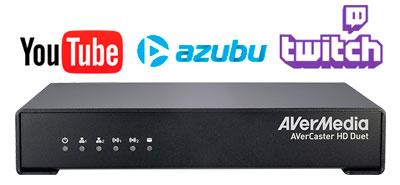 Múltiplas conexões para transmissão ao vivo