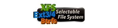 Múltiplos sistemas de ficheiros