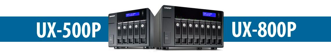 NAS 6 bay Qnap, expansão de capacidade facilitada