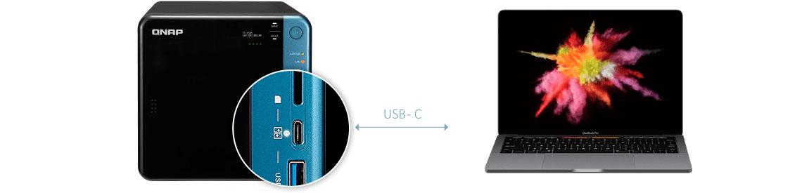 NAS TS-453B com QuickAccess para acesso mais rápido aos arquivos