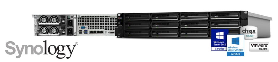 Storage RS3614xs, NAS corporativo eficiente