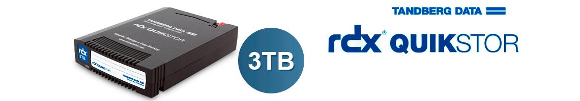 Disco RDX QuikStor 3TB