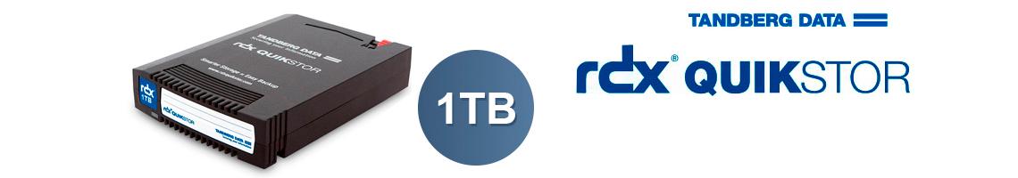 O RDX QuikStor - Disco removível para armazenamento e backup de dados.