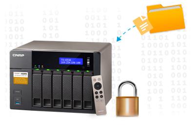 Opções de segurança para os arquivos