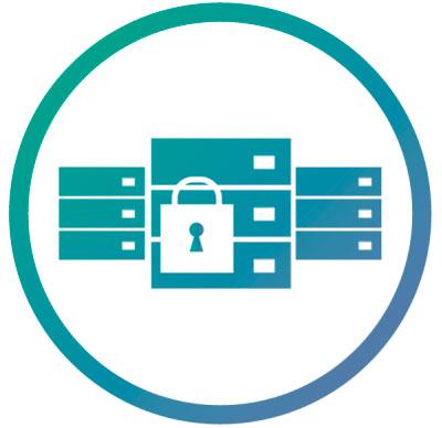 Opções de segurança para os dados