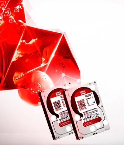 HD desktop ou HD NAS? Os WD Red são projetados para computadores para servidores e ambiente NAS.