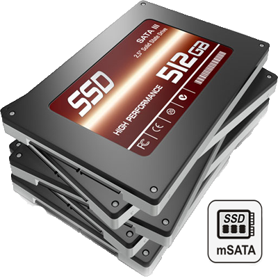 DAS com Performance SSD via cache mSATA