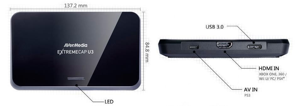 Placa de Captura HDMI para todos os fins