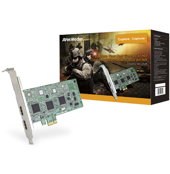Placa HDMI DarkCrystal 1080p Avermedia