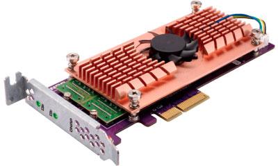 Placa QM2 para cache SSD e rede 10GbE