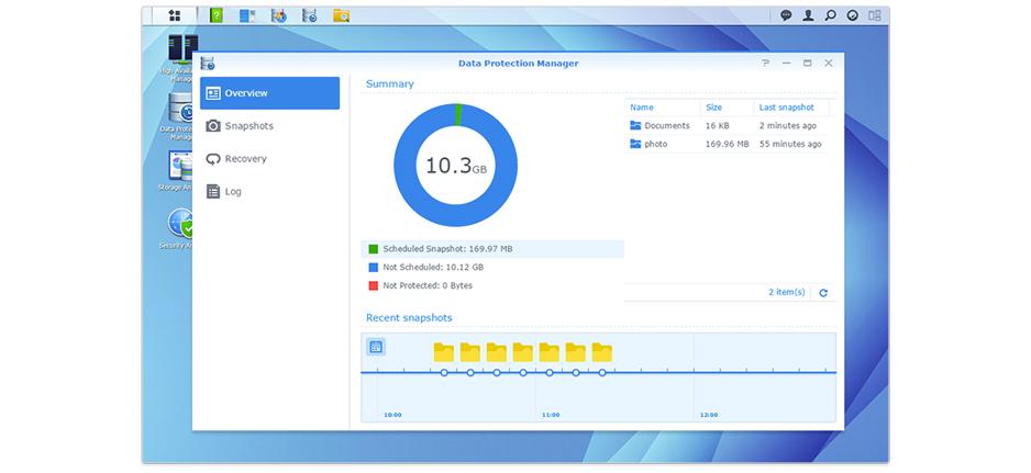 Proteção de dados com sistema de arquivos Btrfs