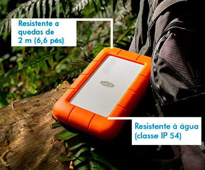 Proteção e Resistência - HD 1TB USB 3.0 / Thunderbolt 9000294