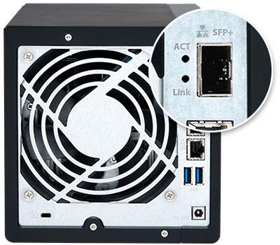 Qnap TS-431X2, storage preparado para rede 10GbE