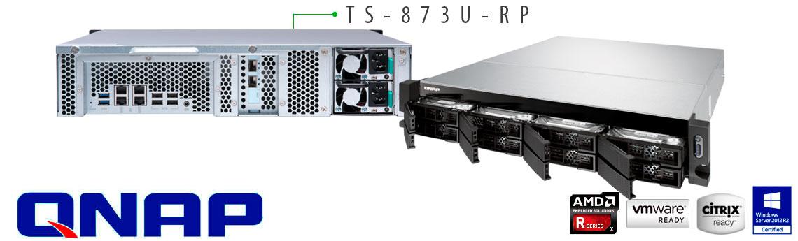 Qnap TS-873U-RP, servidor de rede com até 96TB de espaço