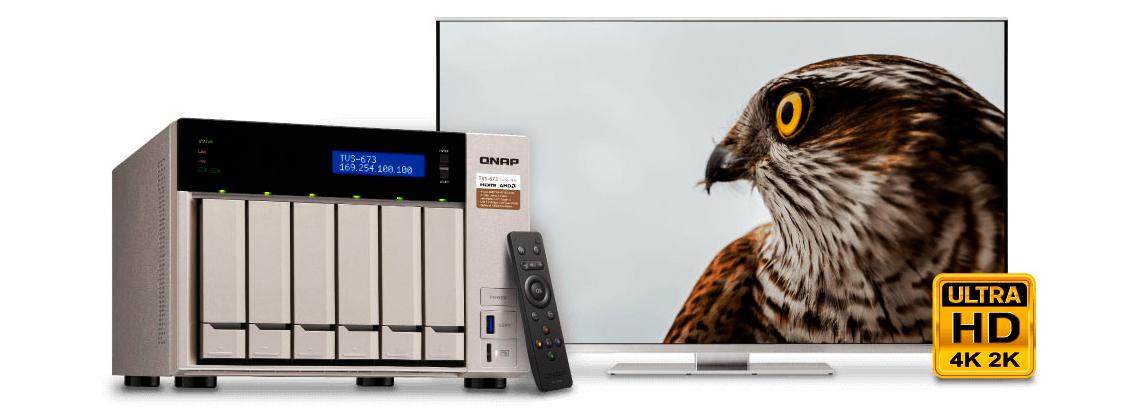 Qnap TVS-673, um Media Center para quem precisa de desempenho