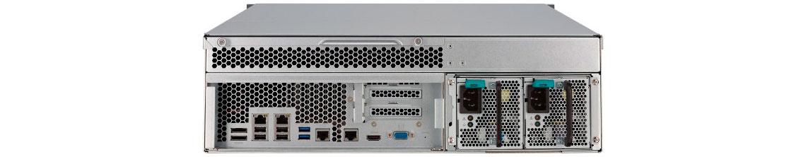Qnap WB-1600U-RP, expansão de rede