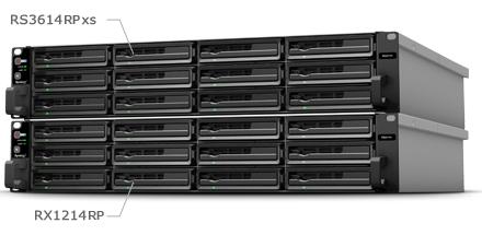 Rackmount NAS expansível até 288TB
