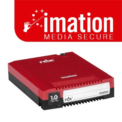 RDX Media Secure 1TB Imation