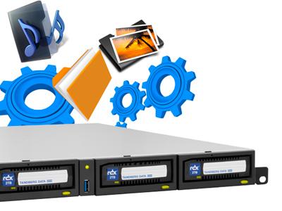 RDX QuikStation 4 - Compatível em vários ambientes